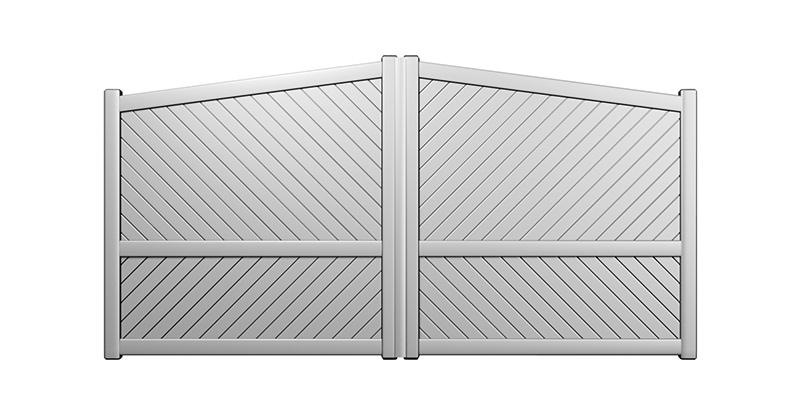 Hohneck : Portail classique aluminium