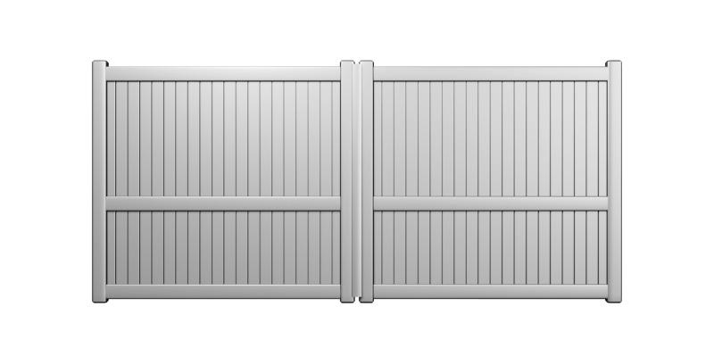Tendre : portail classique aluminium