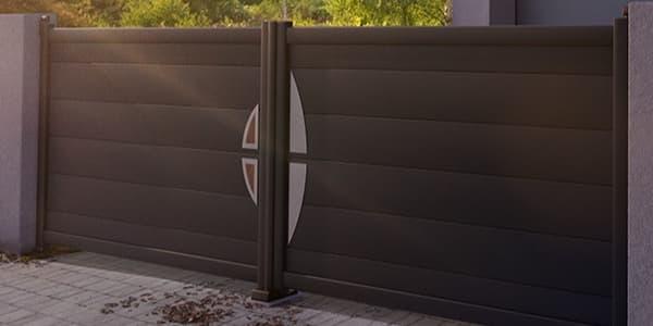 Décoration alunis pour portail aluminium