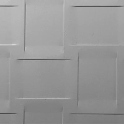 tôle perforée gaufrée pleine pour portail