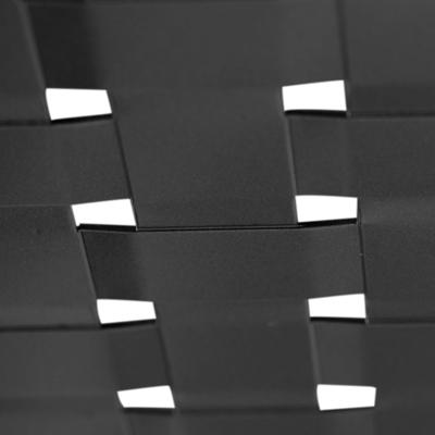 tôle perforée gaufrée ajourée pour portail