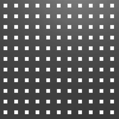 tôle perforée carrée pour portail